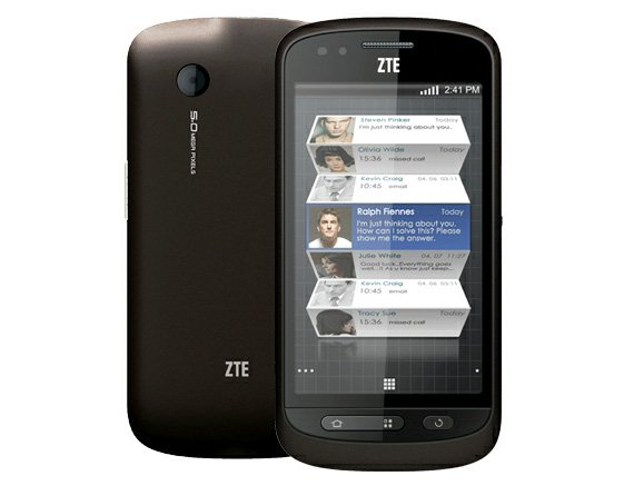 ZTE Libra Android smartphone