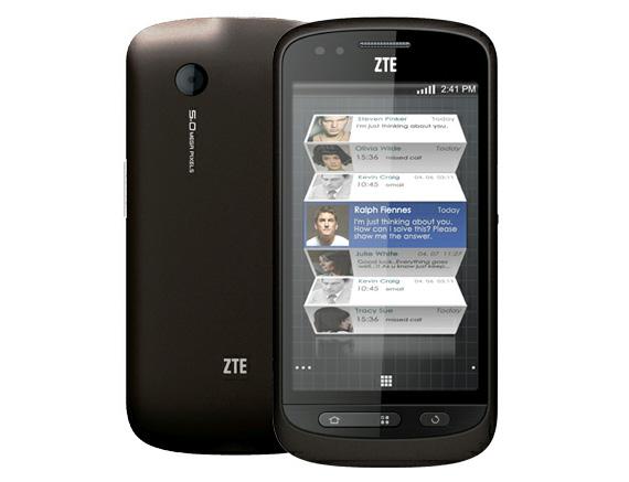 ZTE Libra Android smartphone