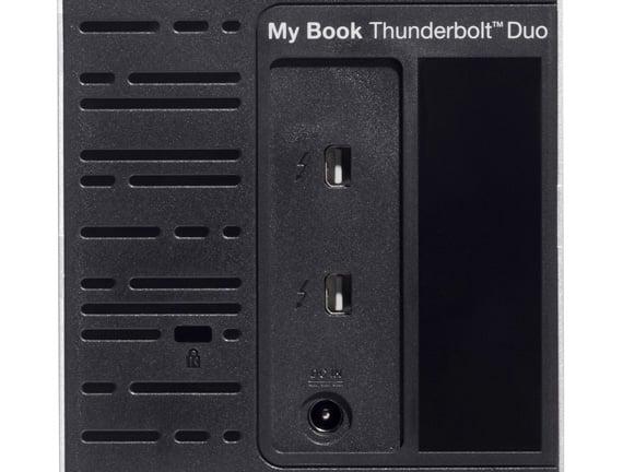 Western Digital My Book Thunderbolt Duo WDBUPB0040JSL