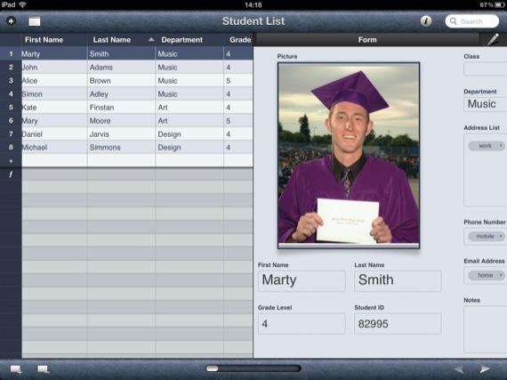 Bento 4 iPad app screenshot