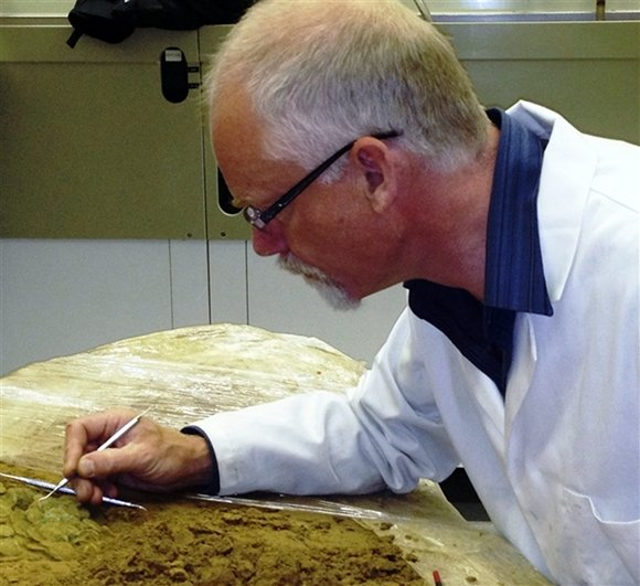 Conservation work starts on Iron Age coin hoard