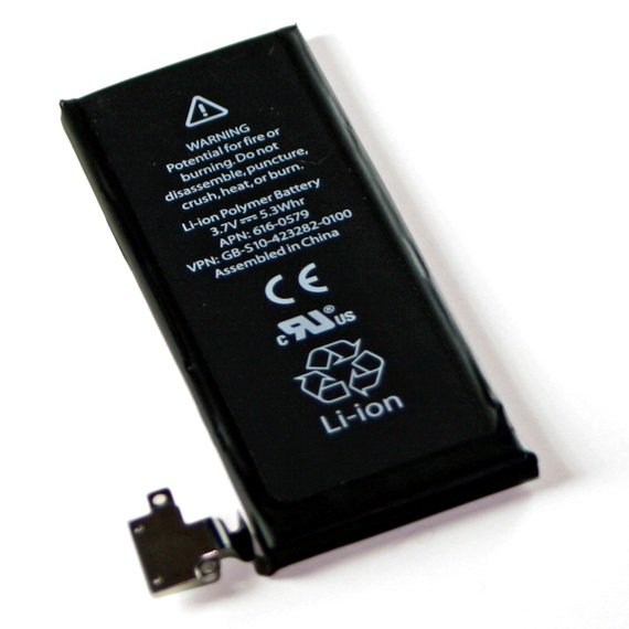 iPhone 4S battery. Source: iFixit.com