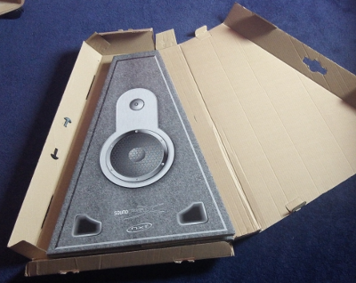 Cardboard folding speakers