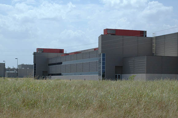 Abandoned Superconducting Super Collider buildings in Waxahachie, Texas