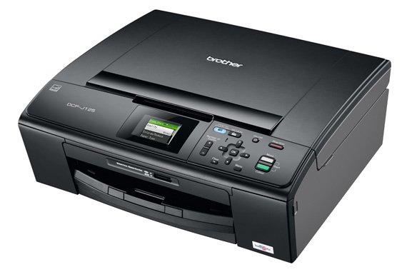 Brother DCP-J125 budget all-in-one inkjet printer