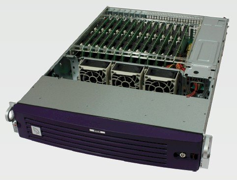Boston Viridis server front view