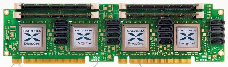 Calxeda EnergyCard server
