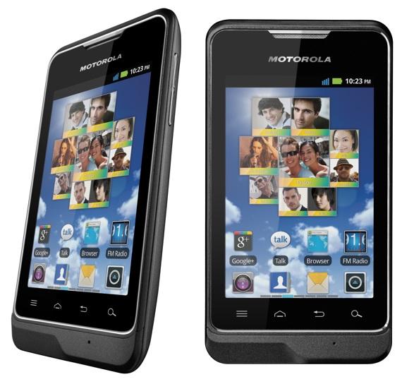 Motorola Motosmart cut-price Android
