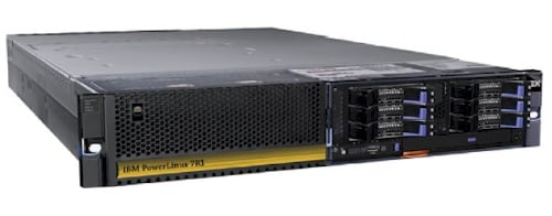 IBM's PowerLinux 7R1 Linux-only server