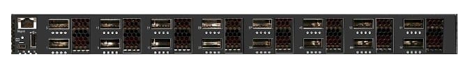 Frontal zoom on the RackSwitch G8316