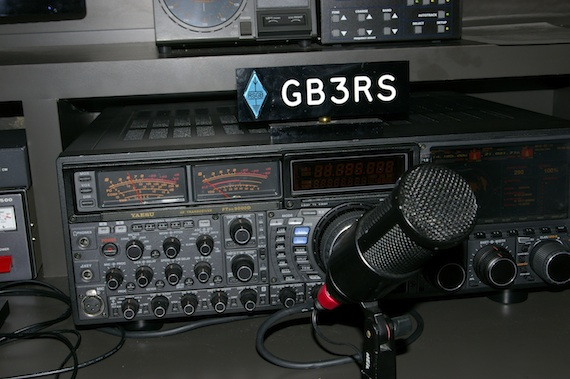Transceiver at the National Radio Centre, credit The Register