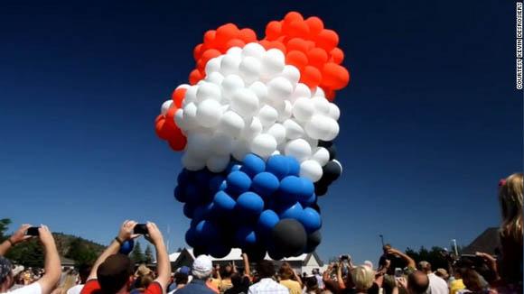 Lawn-chair balloon