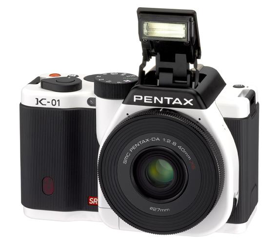 Pentax K-01 mirrorless camera