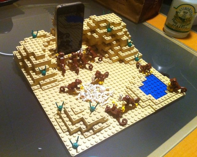 2001 iPhone dock in Lego. Source: Imgur
