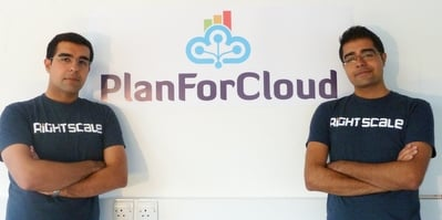 Right Scale PlanForCloud founders