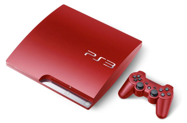 Red PS3