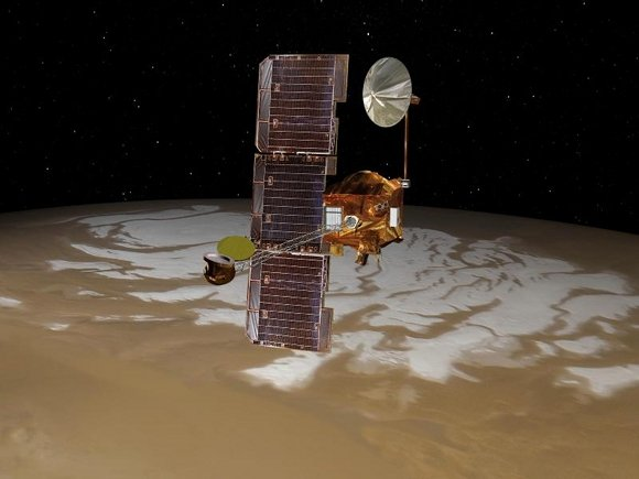 NASA's Mars orbiter Odyssey