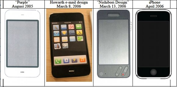 Apple phone design pre-2005