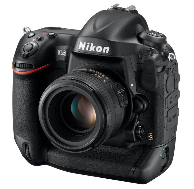 Nikon D4 full-frame 16Mp DSLR camera