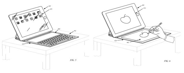 Apple patent application for Smart Covers