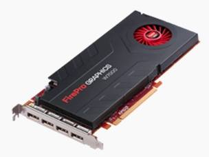The FirePro W7000 graphics card
