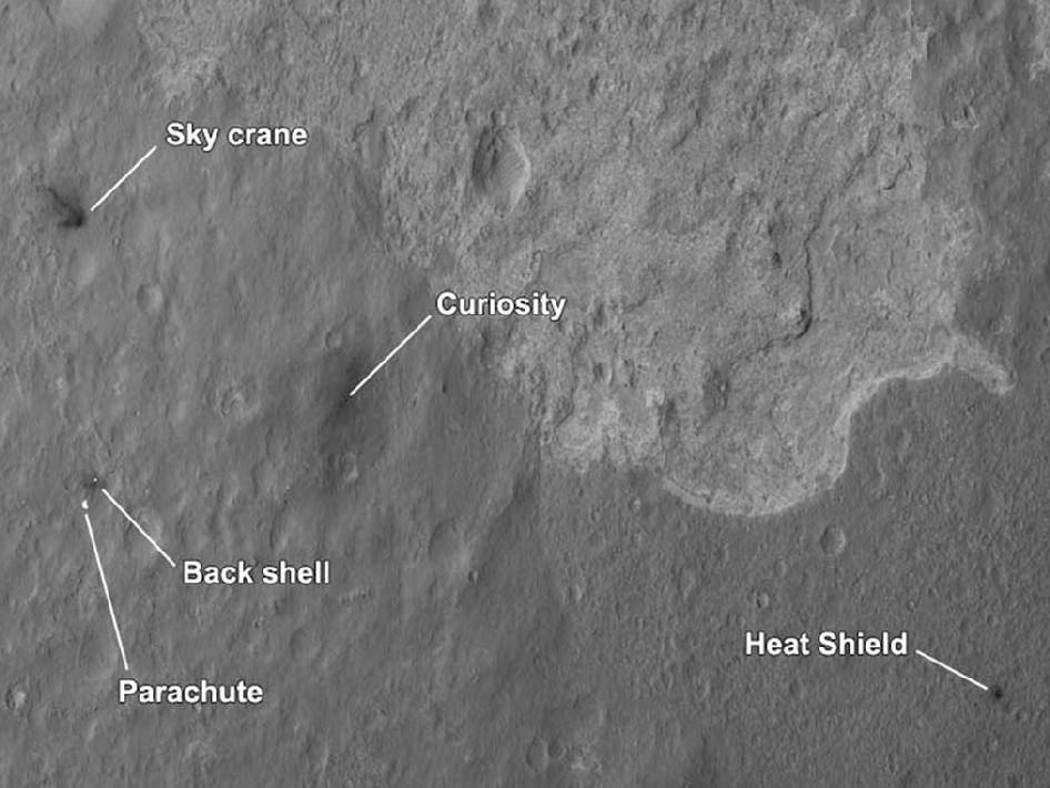 curiosity landing site - photo #1