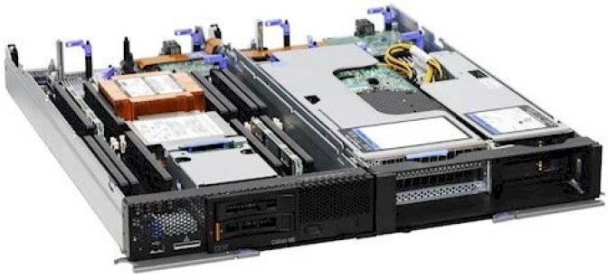 The Flex System server and PCI expansion node