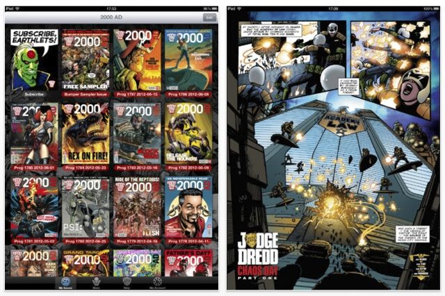 2000AD app