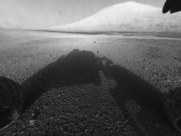 Curiosity's view of Mount Sharp
