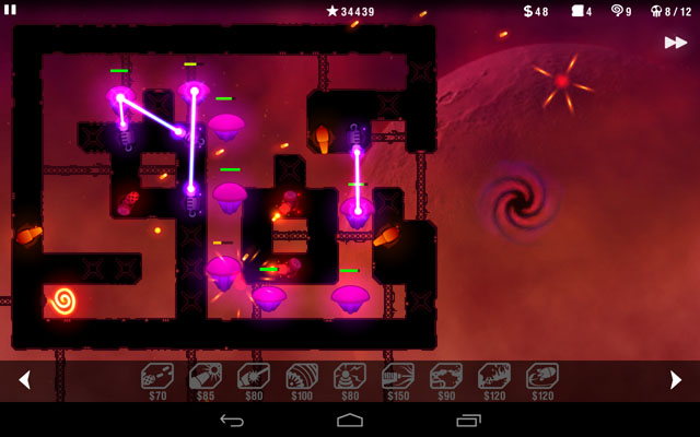 Radiant Defence Android game