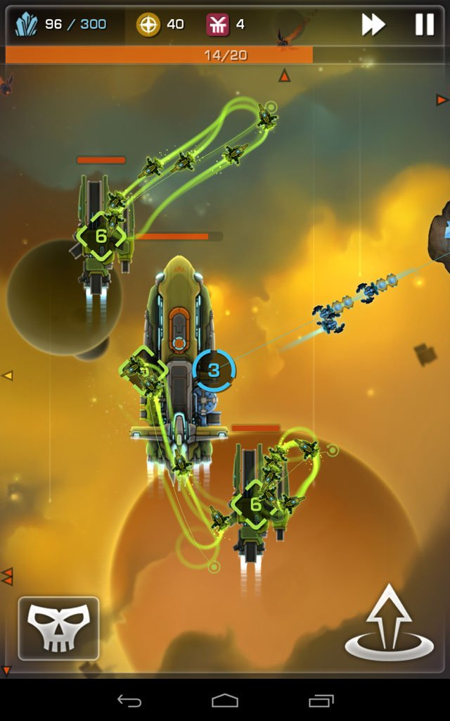 Strikefleet Omega Android game