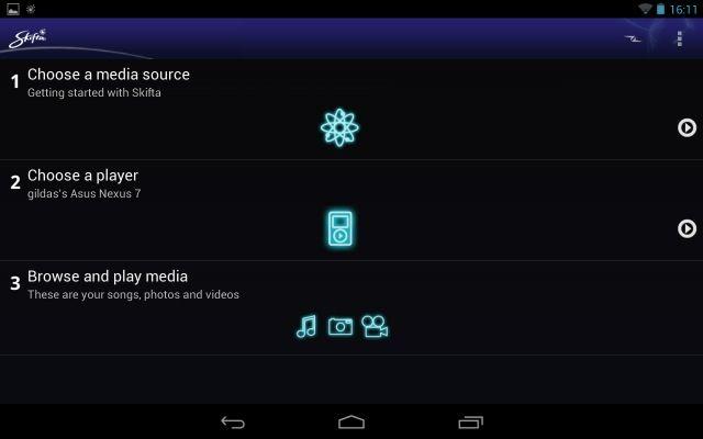 Skifta Android app