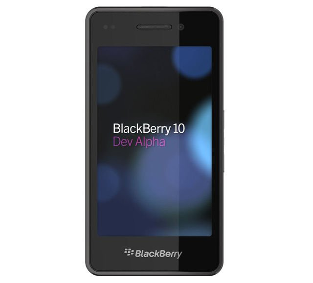 BlackBerry 10 Dev Alpha kit