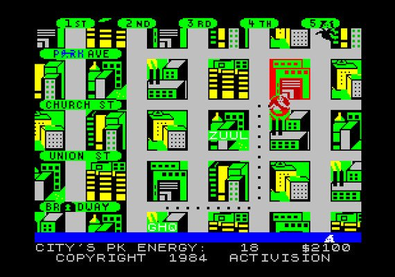 Ghostbusters 1984 game