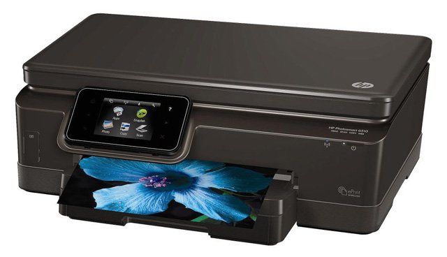 HP Photosmart 6510 all-in-one inkjet photo printer