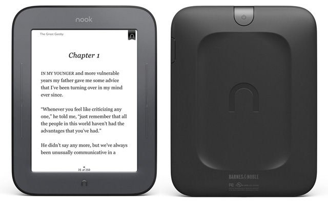 Barnes &amp;amp; Noble Nook Simple Touch