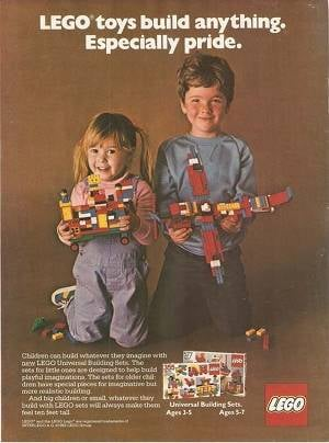 A 1982 Lego magazine ad