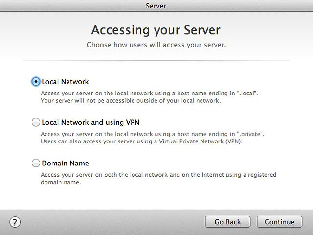 Mac OS X Server for Mountain Lion