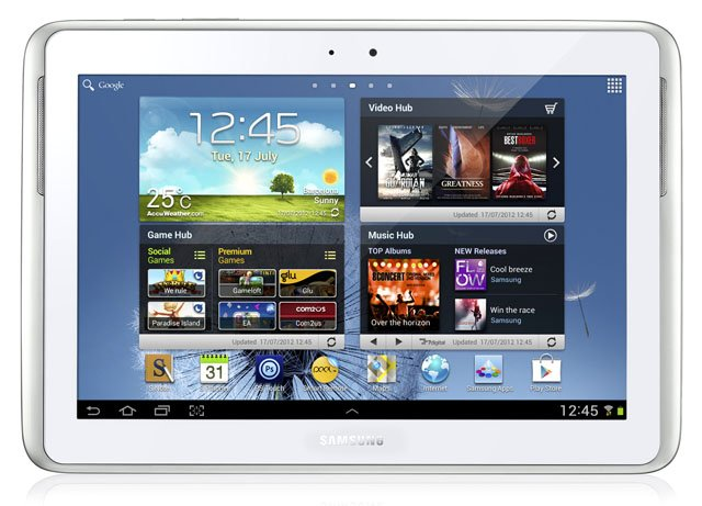 Samsung Galaxy Note 10.1 Android tablet