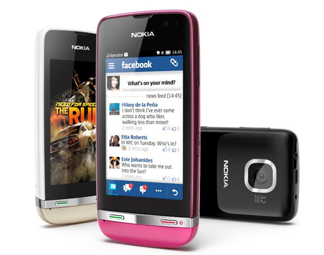 Nokia Asha 311 budget smartphone