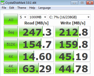 Crucial v4 256GB (CT256V4SSD2) SSD