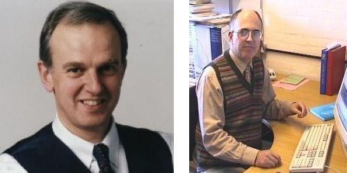 Steve Vickers and Richard Altwasser