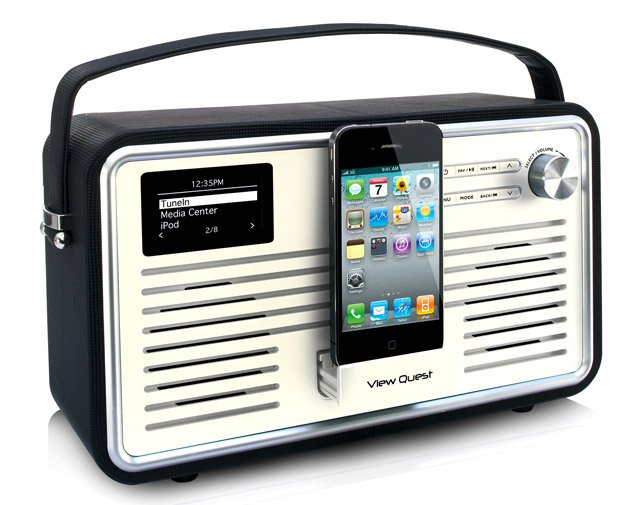 View Quest Retro Wi-Fi Radio