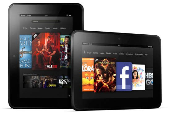 Amazon Kindle Fire HD 7-inch tablet