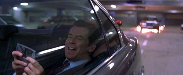 Pierce Brosnan in Tomorrow Never Dies