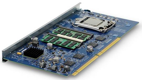 An Ivy Bridge Xeon E3 server node for the SM15000