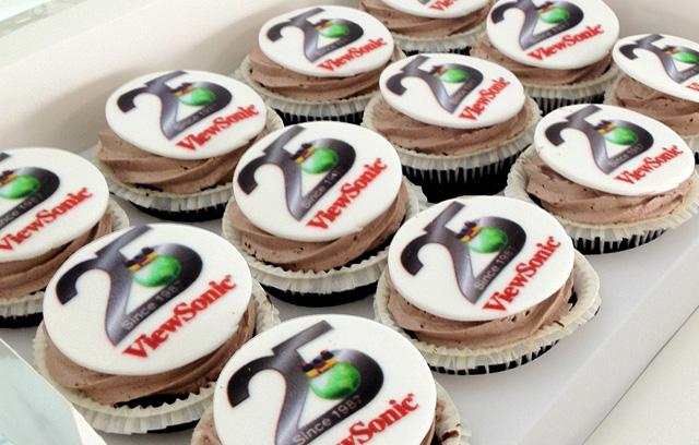 Viewsonic 25yrs cake