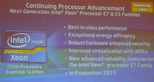 Intel is cooking up 'Ivy Bridge' Xeon E5 and E7 processors for next year