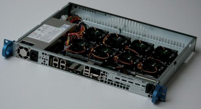 Codethink's Baserock Slab eight-node ARM system