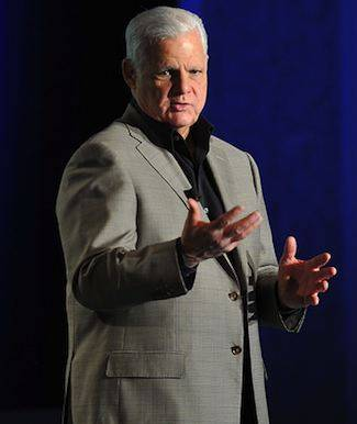 Joe Tucci, EMC, standing